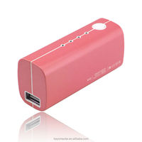 Hot portable 2600mAh power bank phone charger for distribution