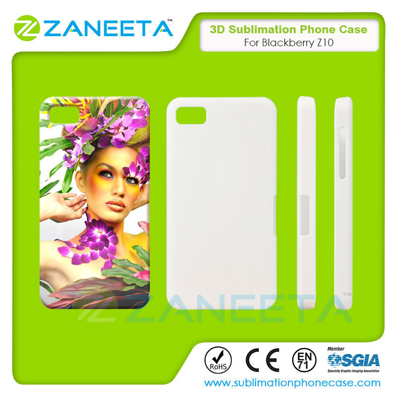 Hot Sale Custom 3D sublimation Phone Case For blackberry z10 | Fashion Design 3D Sublimation Blank Cover For blackberry z10