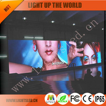 stage concerts events Indoor Rental LED Display Screen P4.8 video play wall