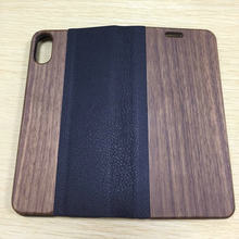 new factory direct custom leather wood phone wallet case,for iphone 7 cover,for iphone 7 plus case