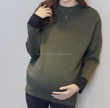 custom spring winter western maternity clothes office wear maternity tops