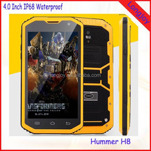 Best Price 5.0 Inch Rugged IP68 Waterproof Cell Phone MTK6572 Dual Core 512MB RAM 4GB ROM Dual SIM Android Phone