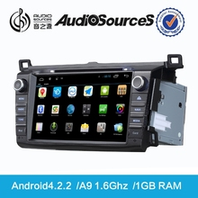 panasonic touch screen car radio toyota support canbus wtih Dual Zone HD digital TMC TV USB 3F Function android4.4.4 system