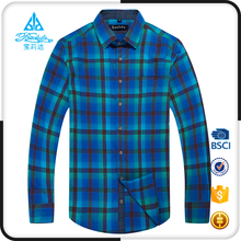 Pure cotton yarn dyed branded new design pattern stylish men casual shirts