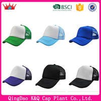 Fast delivey trucker hats wholesale blank trucker hats for men and women
