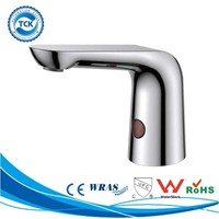Deck Mount Hands Free Infrared Sensor Water Tap