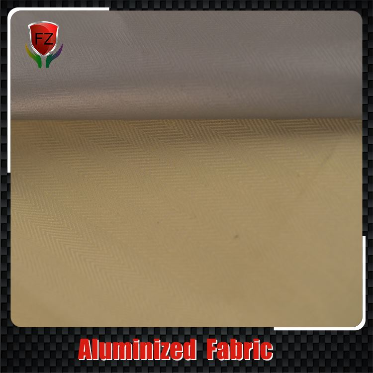 fire resistant material aluminized thermal cloth aramid fabric