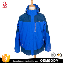 OEM service cheap sport winter Men Waterproof Windproof softshell Jacket