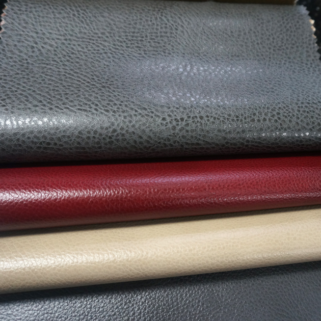 Dongguan pvc pu upholstery vinyl leather fabric materials for marine auto