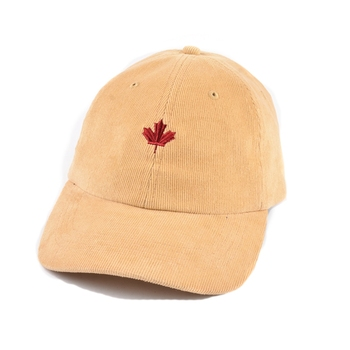 Unique design embroidered custom yupoong corduroy dad hat