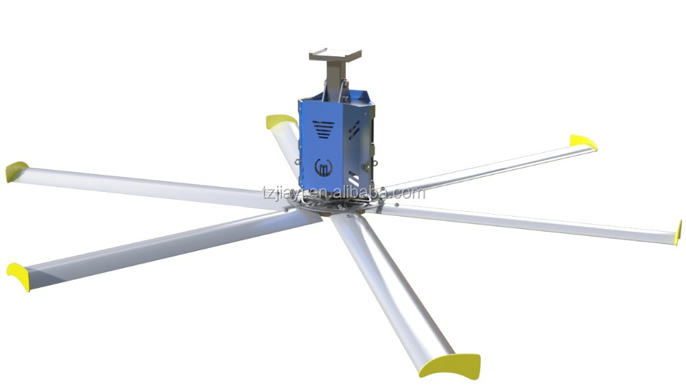 15ft (4500mm) Energy saving big industrial ceiling fans for exhibition/workshop/warehouse