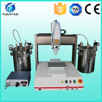 CE listed automatic solder paste dispenser / dispensing robot
