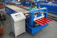 Indonesia Color Steel Trapezoidal Metal Roofing Sheet Profiling Machine Price
