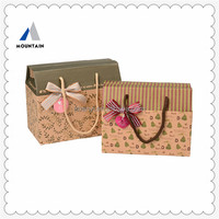 Mountain Custom Logo shopping paper bag printing service