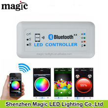 IOS or Android 12V 24V DIM RGB CCT Bluetooth LED Controller