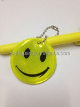 Holiday Promotional Gifts Soft PVC Reflective Keychain/Pendant/Reflective Hanger