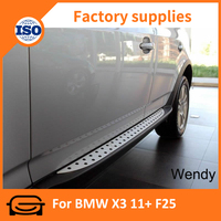 side step Running board for BMW X3 11+ F25 car Side step