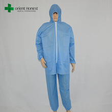 China manufacturer nonwoven disposable workwear coverall/protective coverall/coverall suit