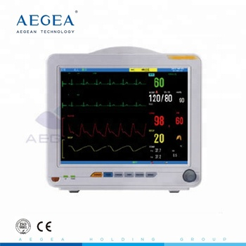 AG-BZ008 CE ISO portable ICU patient medical multiparameter patient monitor