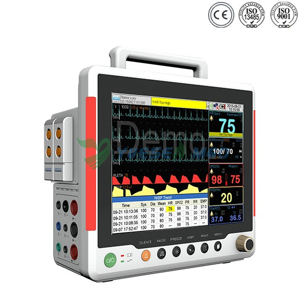 medical 12.1 inches multi parameter patient monitor