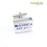 Make in China high quality round metal men cufflink/Hard enamle design wholesale metal cuffink