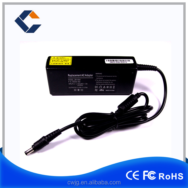 Laptop ac adapter for acer mini laptop charger 19V 3.42A output notebook charger