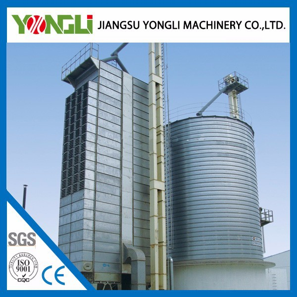Compact structure grain storaged stainless steel bin