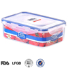 China manufacturer plastic large food container with lid