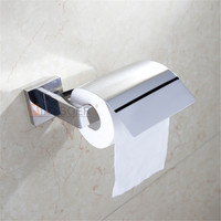 New design chrome hotel paper towel holder wall mounted