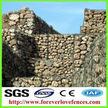 China facrory hot galvanized weld home depot wire mesh gabion fence panels