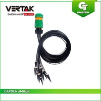 One-stop garden supplier easy working micro irrigation system,w/PVC hose irrigation kits,drip irrigation hose with fitting set