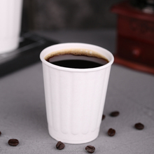 Premium Disposable Togo Coffee Cups with Lids