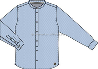 In stock item for Mens casual shirts , half price , cotton printed chambray shirts
