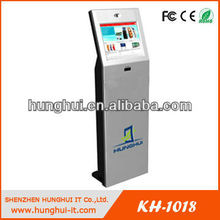 Stand Alone Touch Screen Kiosk LCD Display For Meeting Room
