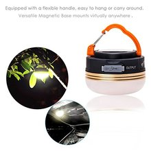 2017 Hot Selling Portable Emergency LED Camping Light with Rechargeable Battery for Backpacking Hiking Emergencies Tents Home