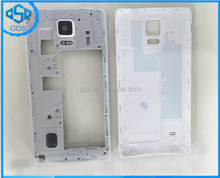 Phone Accesseries Note 4 housing cover middle frame with back cover door