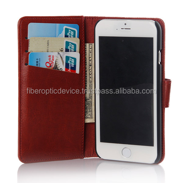 Smart Phone Cases Holder for Apple Iphone 5 5 S 5C 5G 6 6G With Card Money Slot