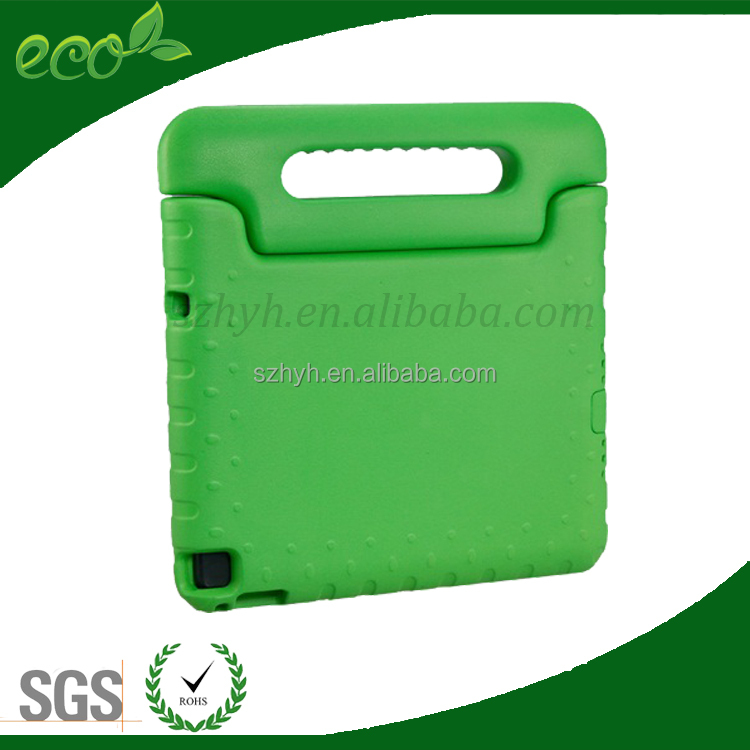 Tablet EVA case shockproof EVA handled case for ipad