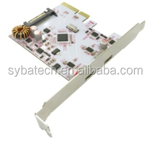USB3.1 SuperSpeed 10Gbps Type-C Dual Port PCI Express Host Card