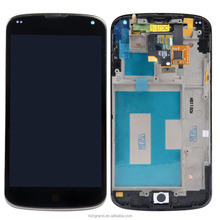 Full LCD Display+Touch Screen Digitizer+Frame Assembly Replacement For LG Google Nexus 4 E960