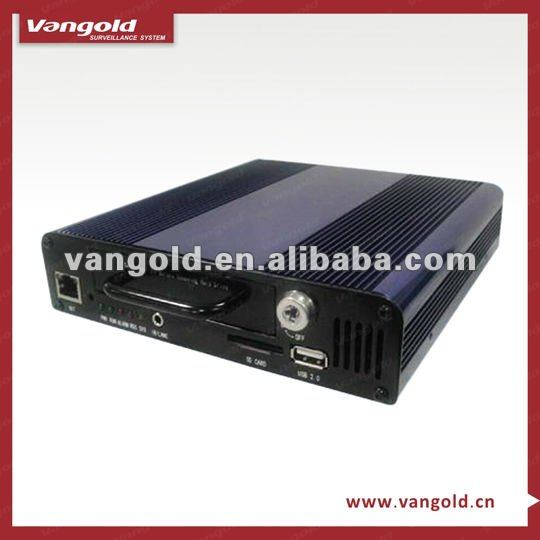 CCTV Surveillance 4CH H.264 Advanced D1 Resolution Mobile SD DVR Supporting WIFI,GPS -VG-0014