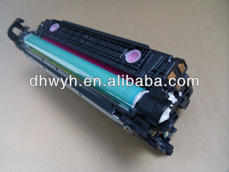 Compatible Color Toner Cartridge CE250A 251A 252A 253AFor HP CP3525/CM3530