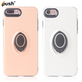 Ring Holder Magnetic Phone Case Cover for Iphone 8 7 pc tpu Case 360 with Stand Holder
