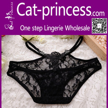 2015 hottest temptation see through black lace panties