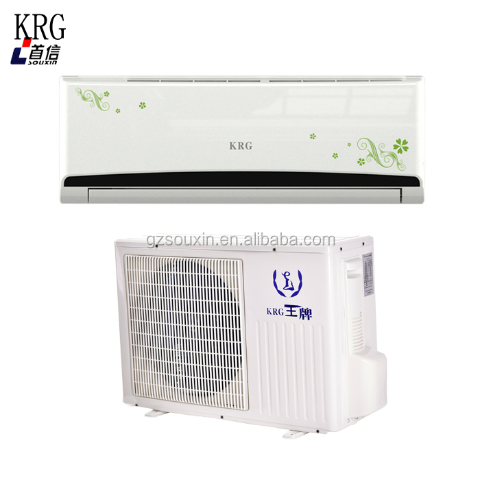 r410a gas split type air conditioner with brand compressor