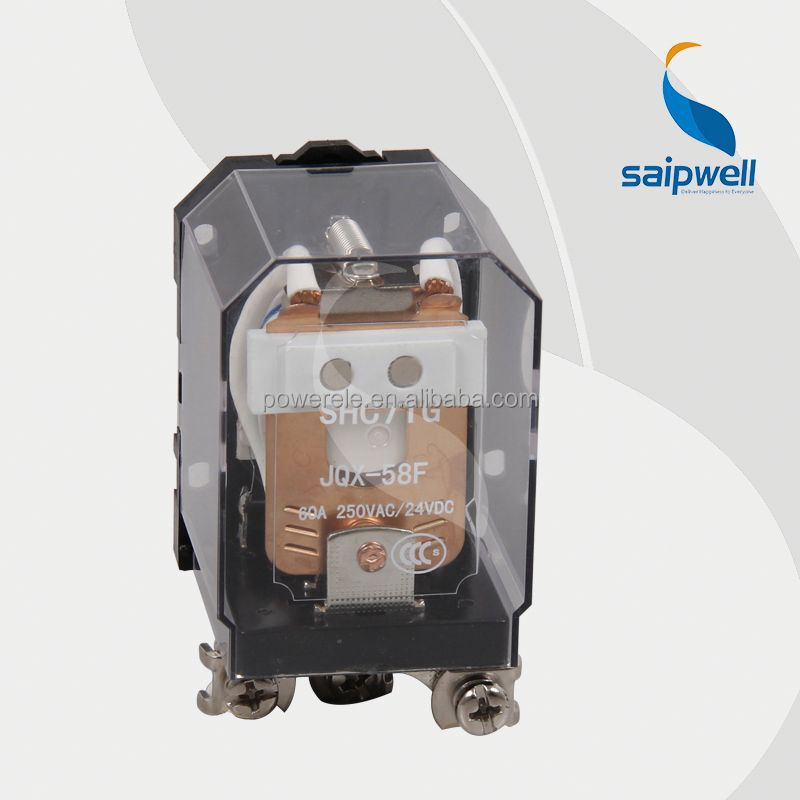 Saip/Saipwell High Quality General Purpose Relay/electric 220v relay switches SHC71G(JQX-58F)