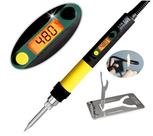 High quality digital electric soldering iron 110W with backlight soldering iron CXG DS110S