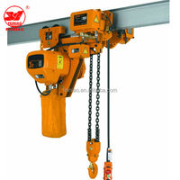 15 ton electric chain hoist with electric trolley on Alibaba