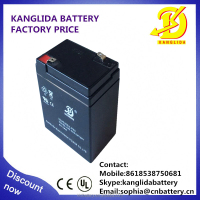 solar energy system battery 6v 5ah lead acid battery cell