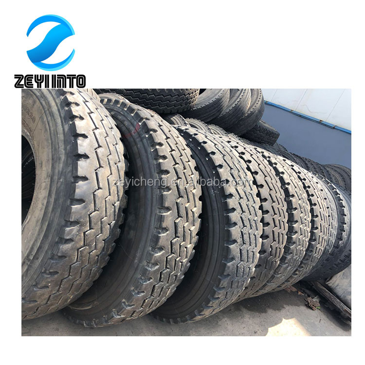Wholesale Chinese Used Semi Trailer Truck <strong>Tire</strong> 295/75r22.5 285/75r24.5 China Trailer Truck Tyre Price For Low Sale.
